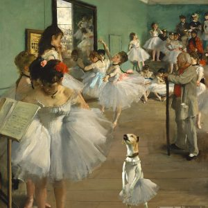 Rescue-Dog-Degas-The-Ballet-Class